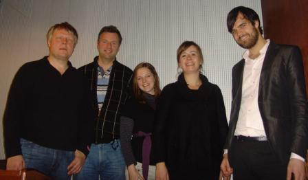 Morten Tollefsen (MediaLT), Knut Kvale (Telenor R&D), Miriam Nes Begnum (MediaLT), Heidi A. Austlid (Friprogsenteret) og Jørund Leknes (FAD)